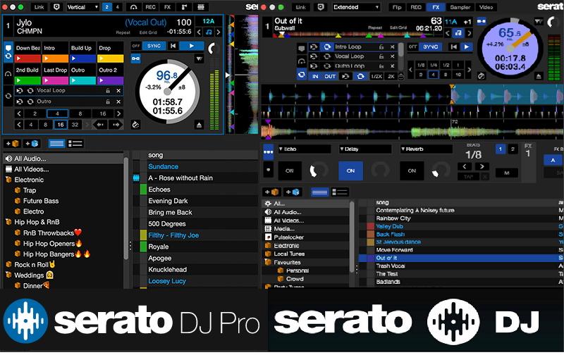 Serato DJ pro Vs Serato DJ